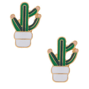 Cactus Stud Earrings,
