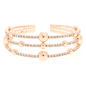 Rose Gold Orbit Bracelet,
