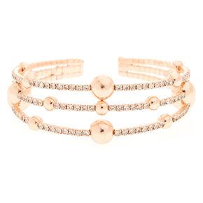 Rose Gold Orbit Bracelet,