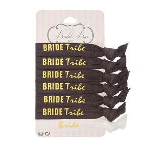 Bride Tribe Hair Ties,