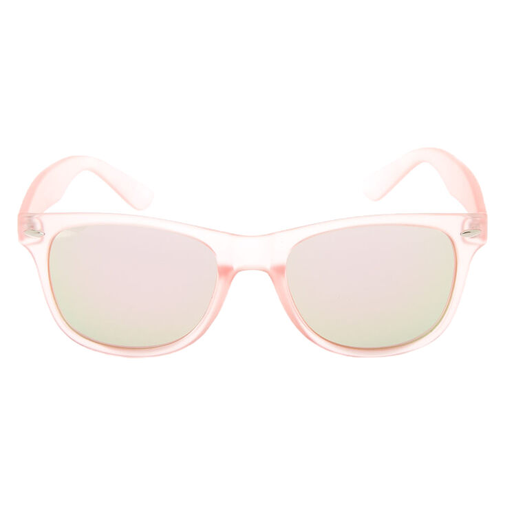 Retro Frost Sunglasses - Pink,