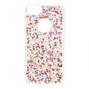 Heart Confetti Phone Case,