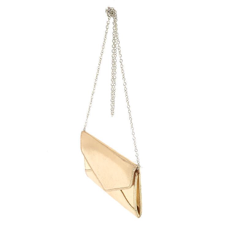 Metallic Gold Clutch Purse,