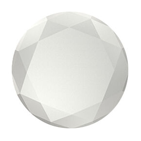 Silver Metallic Diamond PopSocket,
