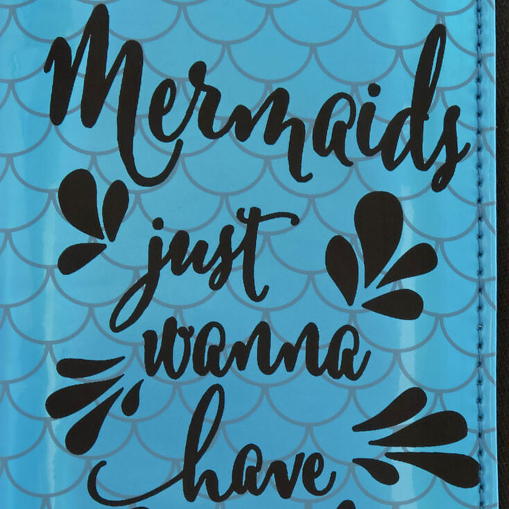 Mermaid Wristlet,