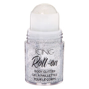 Roll On Body Glitter - Silver,