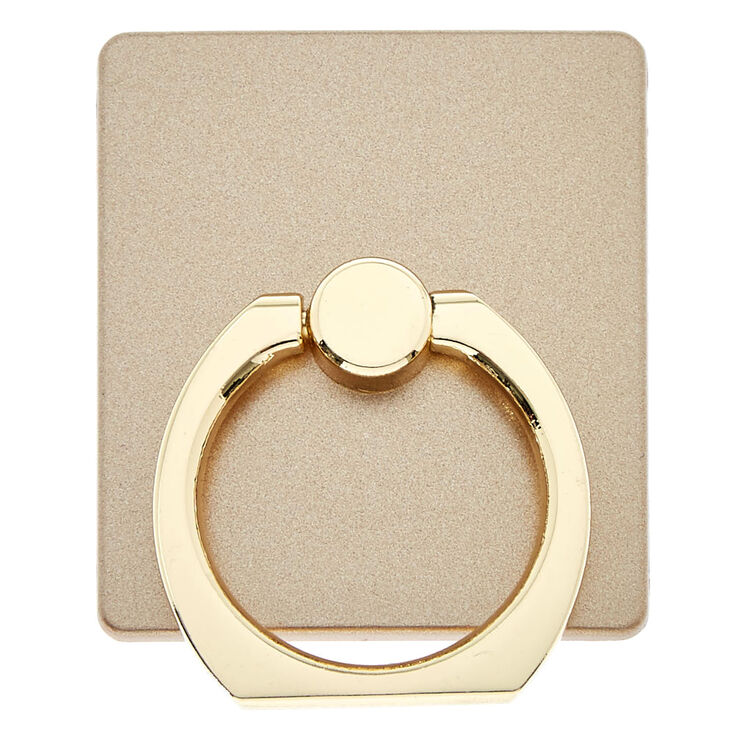 Gold Plate Ring Stand,