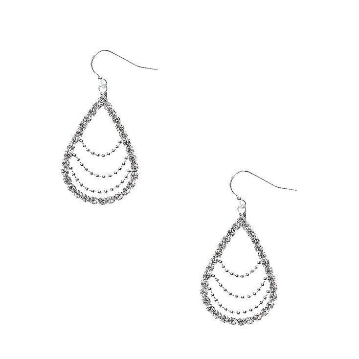 Tear Drop Link Earrings,