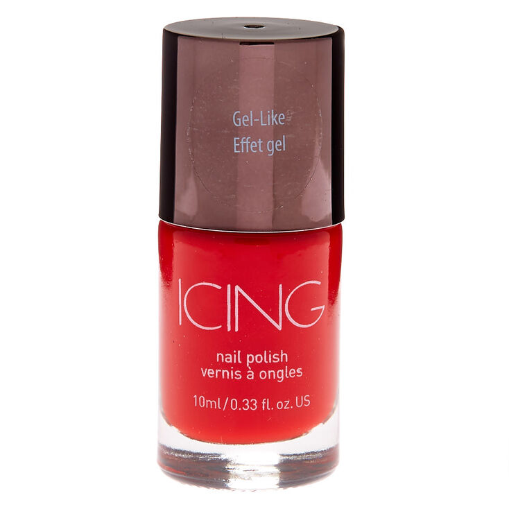 Gel-Like Nail Polish - True Red,