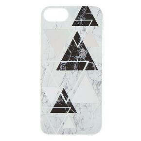 Geometric Marble Phone Case - Fits iPhone 6/7/8 Plus,