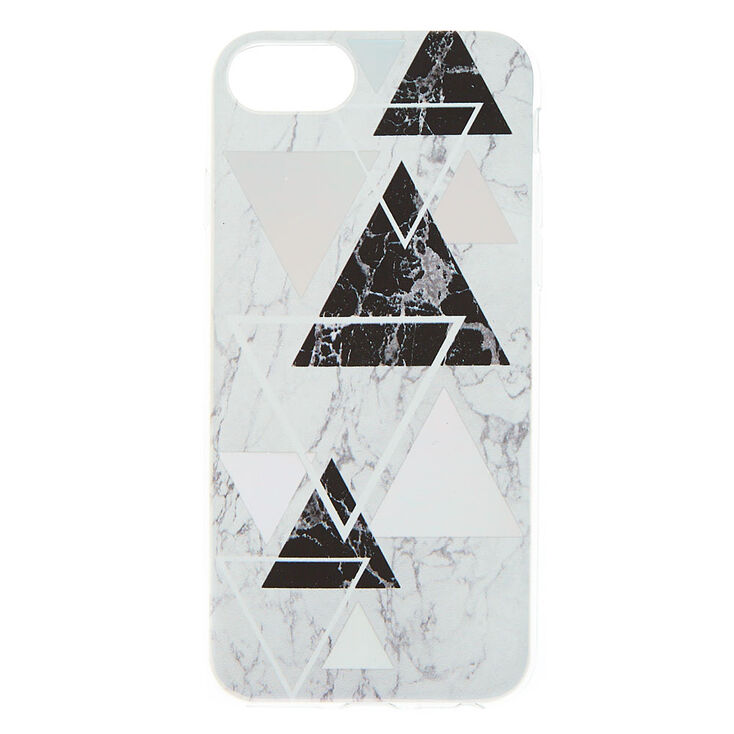 Geometric Marble Phone Case - Fits iPhone 6/7/8 Plus,