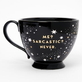 Black Ceramic Zodiac Mug - Capricorn,