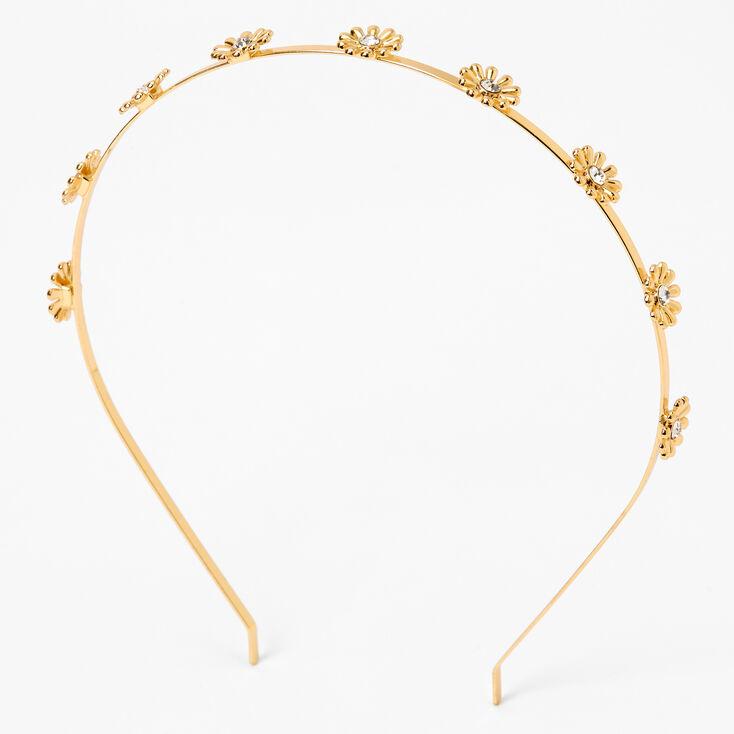 Gold Daisy Headband,