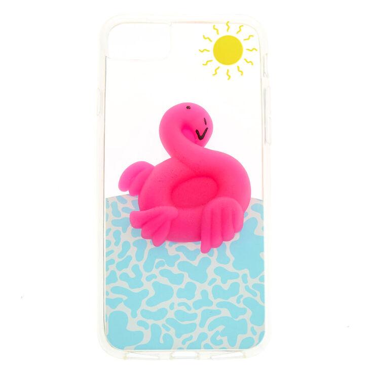 Squishy Flamingo Phone Case,