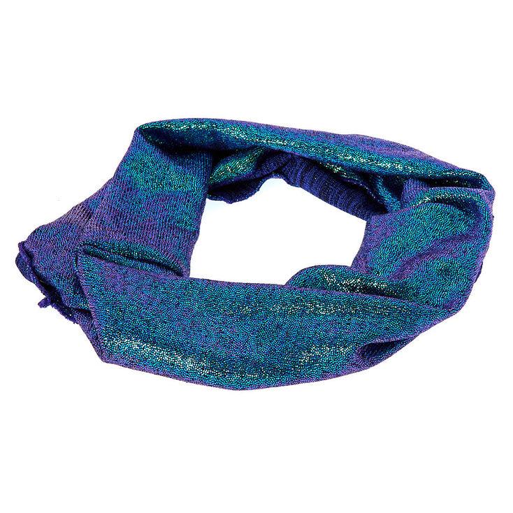 Shimmer Headwrap - Blue,