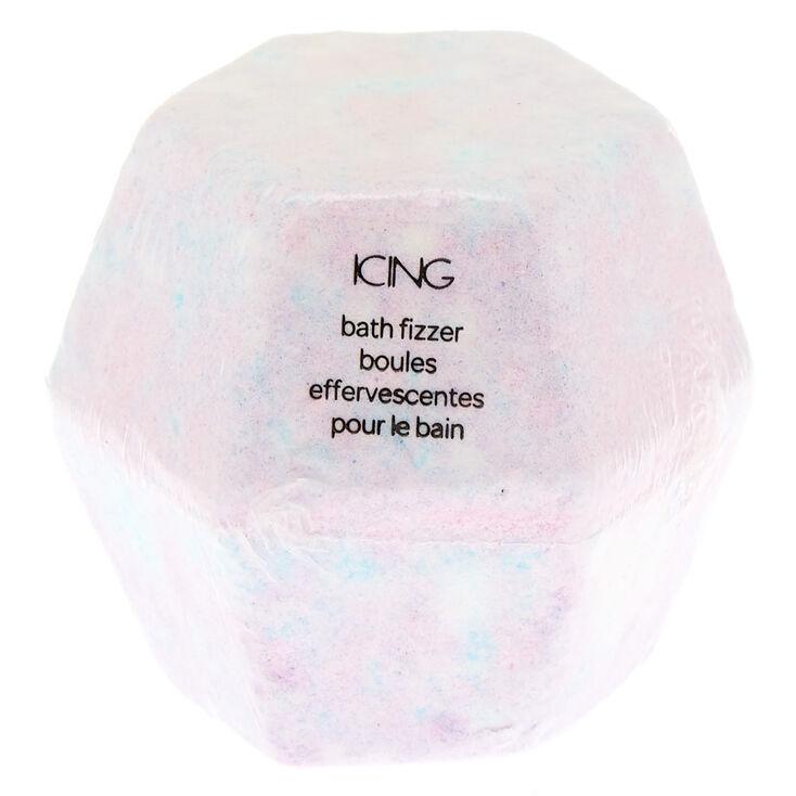 Pastel Hexagon Bath Bomb - Purple,