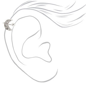 Silver Embellished Celestial Ear Cuffs - 3 Pack,