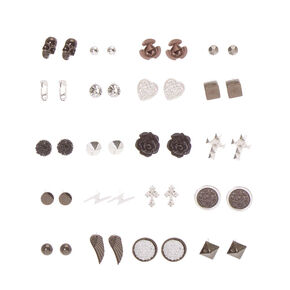 Gothic Romance Stud Earrings - 20 Pack,