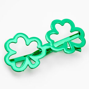 Green Shamrock Glasses,