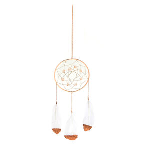 Metallic Dream Catcher Wall Art - Rose Gold,