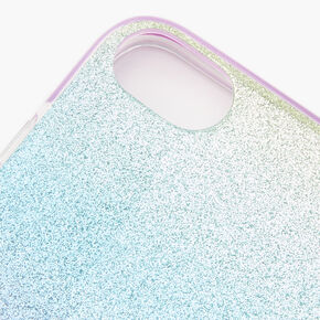 Pastel Glitter Ombre Phone Case - Fits iPhone 6/7/8/SE,