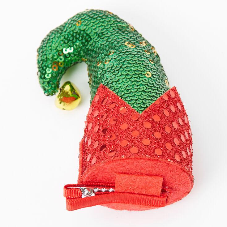 Sequin Elf Hat Hair Clip,