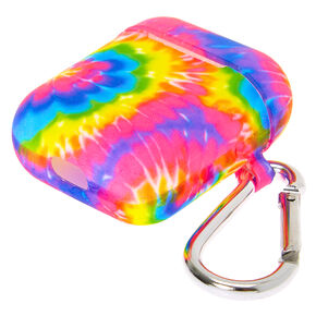 Tie Dye Silicone Earbud Case Cover - Compatible With Apple AirPods,