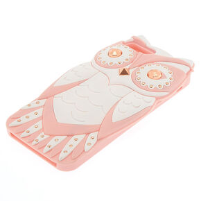 Pink Glam Owl Phone Case - Fits iPhone 6/7/8,