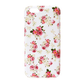 English Floral Soft Phone Case - Fits iPhone 6/6S,