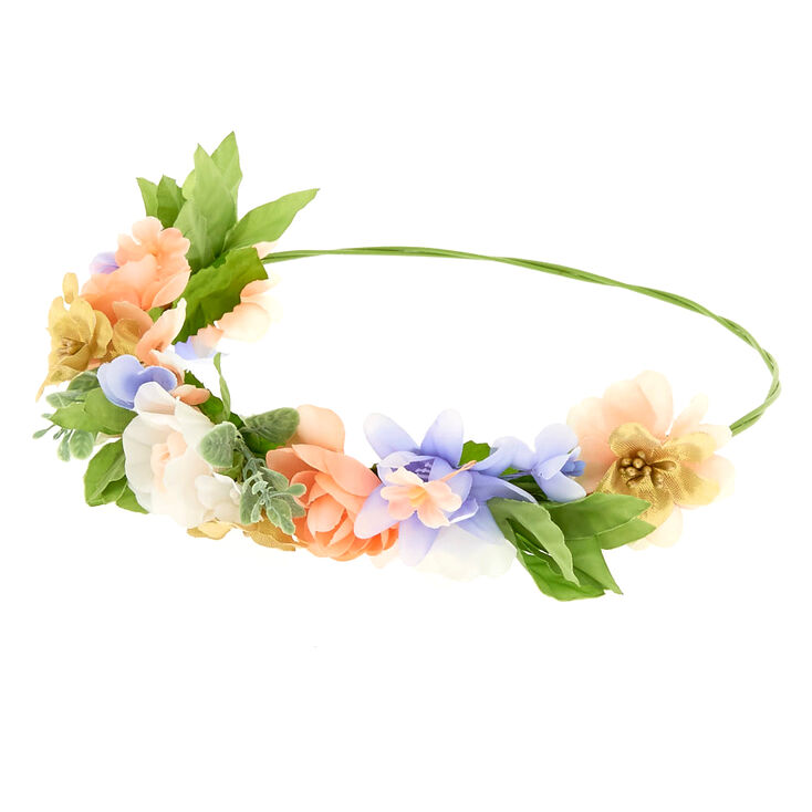 Spring Mix Flower Crown,