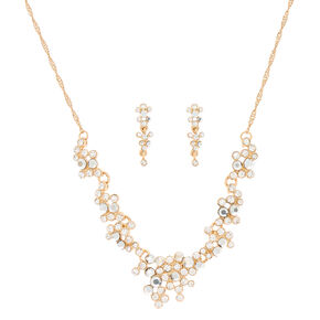 Gold Elegance Jewelry Set - 2 Pack,