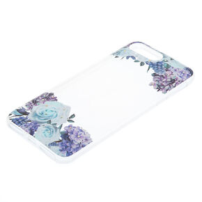 Purple Florals Phone Case,