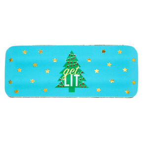 Get Lit Slap Drink Koozie - Blue,