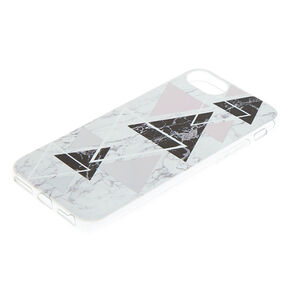 Geometric Marble Phone Case - Fits iPhone 6/7/8,