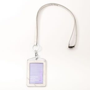 Marble Lanyard - White,