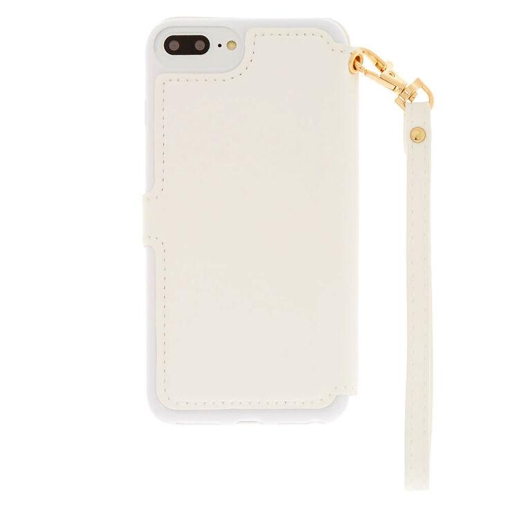 Quilted Folio Phone Case - Fits iPhone 6/7/8 Plus,