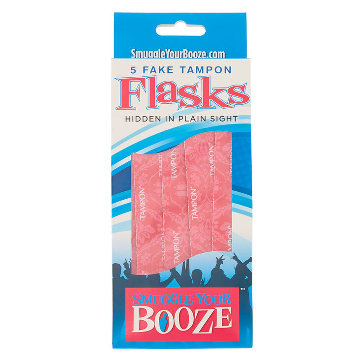 Smuggle Your Booze™ Fake Tampon Flasks - 5 Pack,