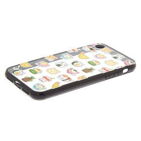 Cat Sushi Phone Case - Fits iPhone XR,
