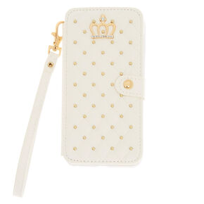 Quilted Folio Phone Case,