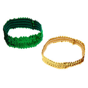 Sequin Headwraps - 2 Pack,