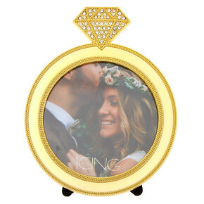 Ring Photo Frame - Gold,