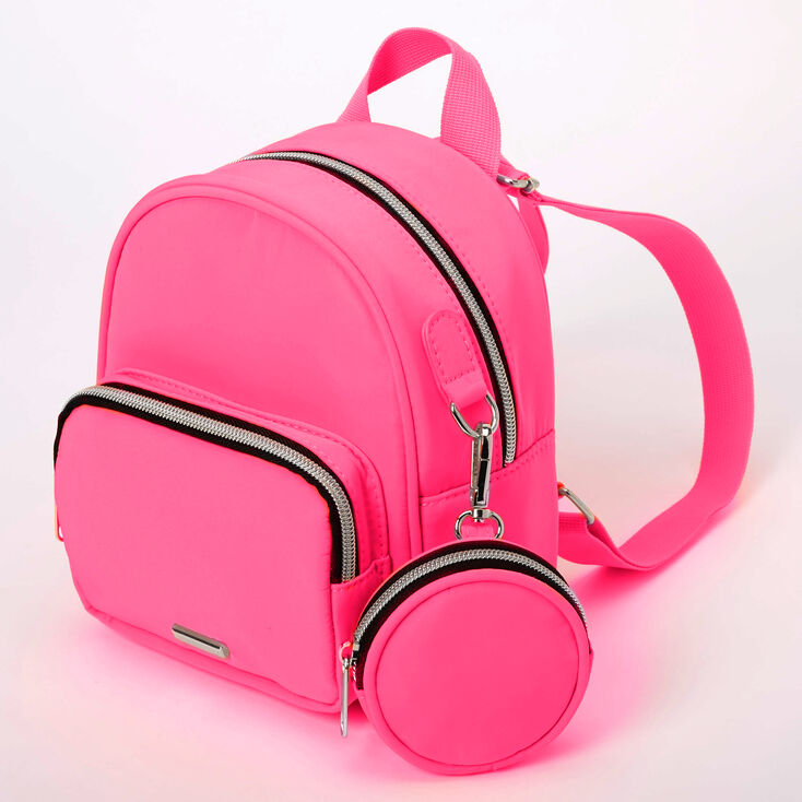 Neon Small Backpack - Pink,