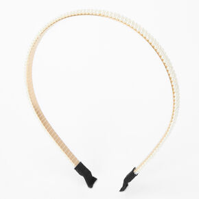Triple Pearl Headband - Ivory,