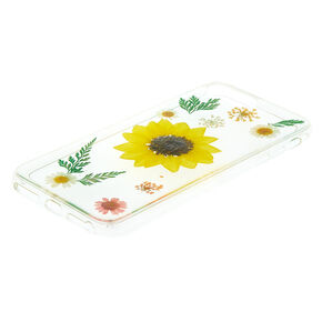 Sunflower Pressed Flower Phone Case,