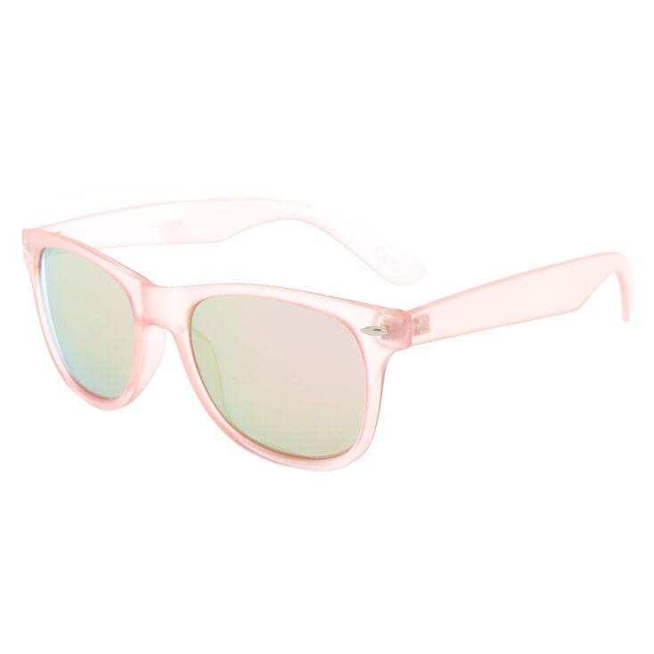 Retro Frost Sunglasses - Pink,