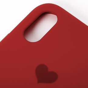 Red Heart Phone Case - Fits iPhone XR,