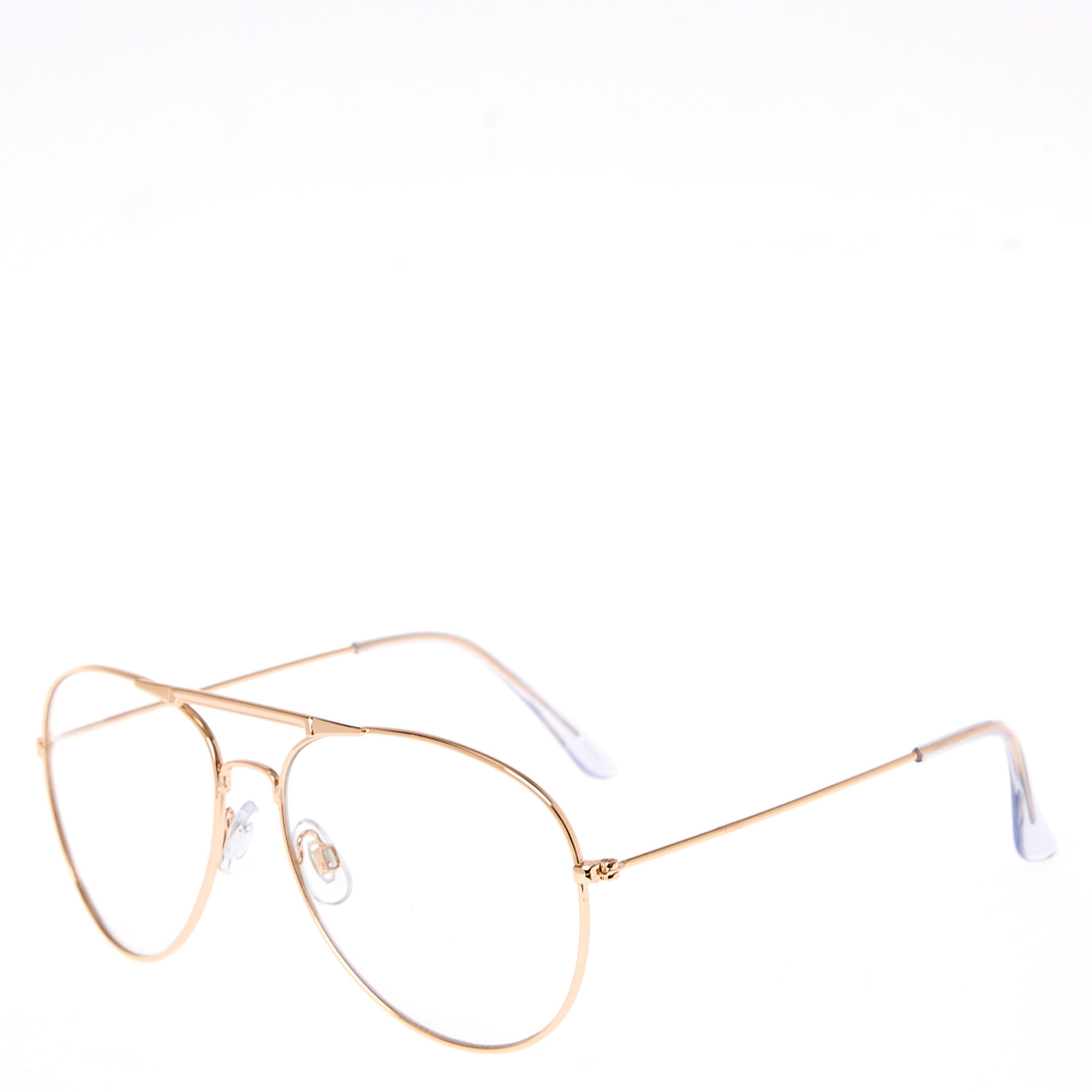 de8ff47197a3e Rose Gold Metal Aviator Frames