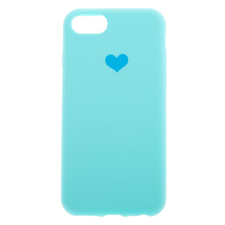 Mint Heart Phone Case - Fits iPhone 6/7/8/SE,