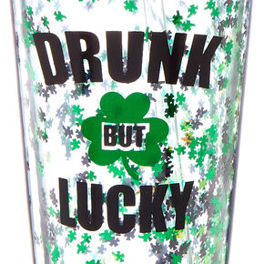 Drunk But Lucky Tumbler - Green,