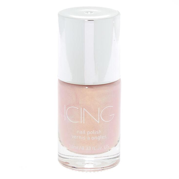 Shimmer Nail Polish - Pink Pearl,